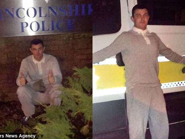 Ejek Polisi dengan Rangkaian Selfie, Pria Buronan Ini Akhirnya Ditangkap!