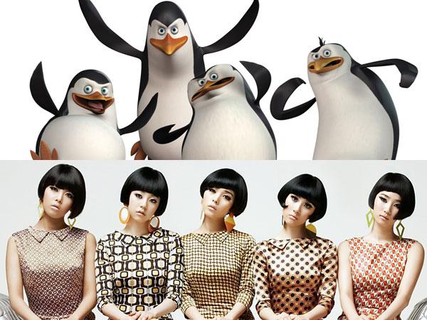 Salah Satu Grup Idola K-Pop Tampil Cameo Dalam 'Penguin of Madagascar' ?
