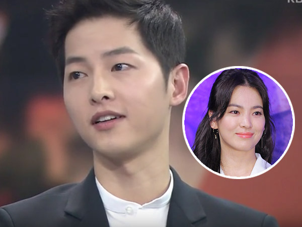 Beri Tanggapan, Song Joong Ki Mengaku Nikmati Rumor Pacarannya Dengan Song Hye Kyo