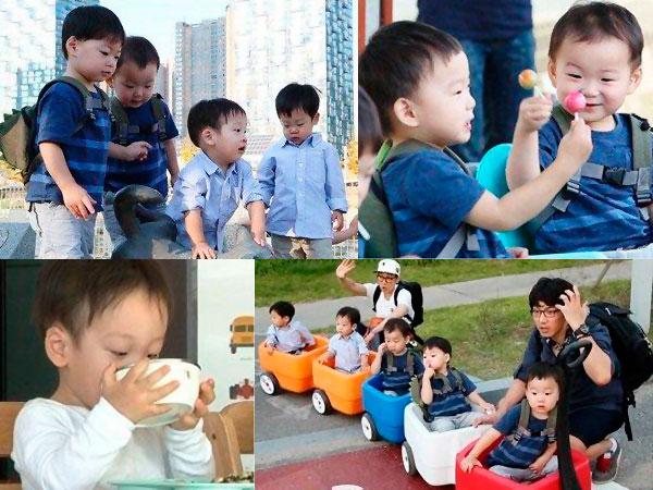 Lucunya Saat Kembar Lee Hwi Jae dan Song Il Gook Main Bersama!