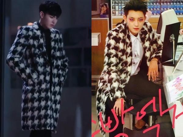 Coat Saint Laurent Kembar Kris Wu Yi Fan vs Tao EXO, Who Wore It Better?