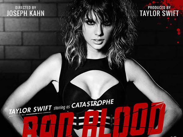 Taylor Swift Ungkapkan Nyaris Alami Cedera Saat Syuting MV 'Bad Blood'