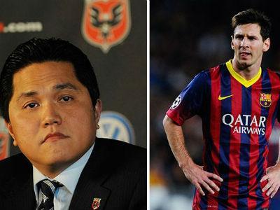 Erick Thohir akan Beli Lionel Messi untuk Inter Milan?