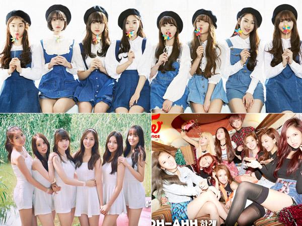 Enam Girl Group Rookie di Tahun 2015 Ini Diprediksi akan Dominasi Industri K-Pop!