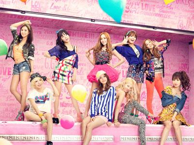 Serunya SNSD Bermain Graffiti 'Mr.Mr' di Dinding Gedung SM Entertainment!