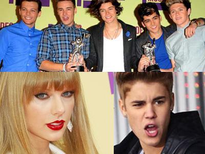 One Direction, Justin Bieber, dan Taylor Swift Pastikan Hadir di Konser 'Jingle Bell'