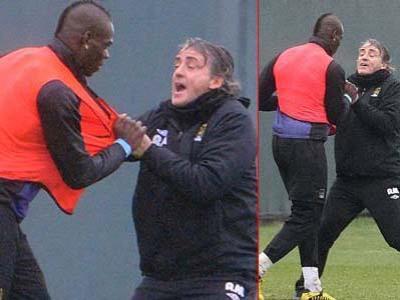 Duh, Balotelli dan Mancini Hampir Adu Jotos