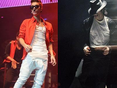 Justin Bieber Jadi Penerus Michael Jackson?