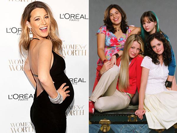 Blake Lively Jadikan Tiga Sahabatnya di Film Sebagai Ibu Baptis Puterinya, James