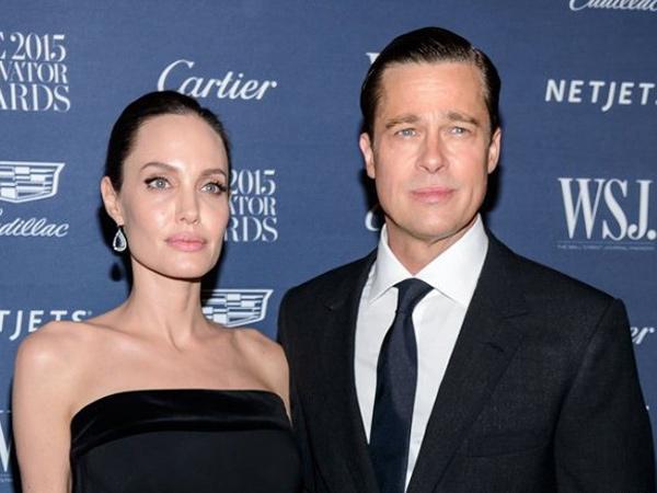 Terlihat Tegang di Pertemuan Pertama Setelah Cerai, Apa yang Dibahas Angelina Jolie dan Brad Pitt?