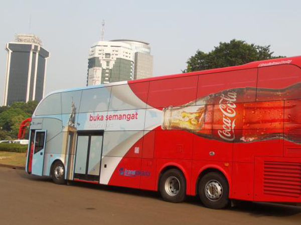 Ulang Tahun ke-488, Kota Jakarta Dapat Hadiah Bus Tingkat Buatan Jerman