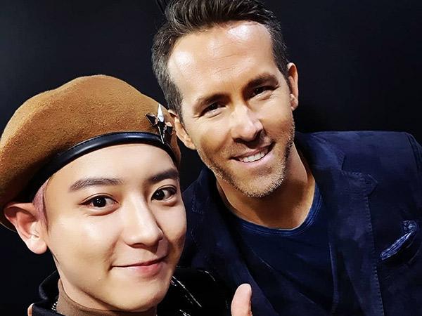 Sikap Lucu Chanyeol EXO Sumringah Ketemu Ryan Reynolds