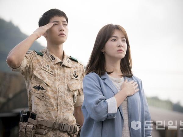 Biaya Fantastis untuk Pembuatan Drama 'Descendants of the Sun' Terungkap!