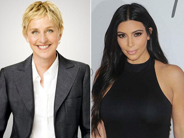 Tampil di Acara Ellen DeGeneres, Perilaku Kim Kardashian Seperti 'Diva'