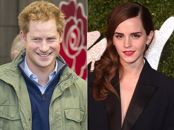Pangeran Harry Dikabarkan Pacari Emma Watson Secara Rahasia?