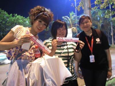 Wow, Ada Fans Jepang Berdandan Ala Harajuku di Konser BIGBANG Jakarta!