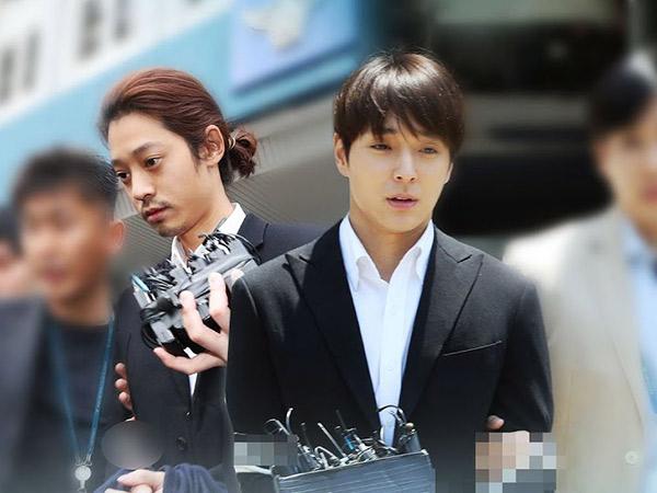Jung Joon Young dan Choi Jonghoon Divonis Penjara 5-6 Tahun