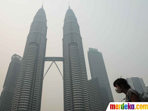 Dipapar Kabut Asap, Warga Malaysia Minta Pemerintah Indonesia Ganti Rugi