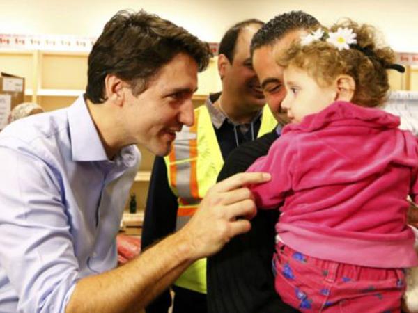 Dari Perdana Menteri Hingga Shalawat, Penyambutan Pengungsi Suriah Ke Kanada Tuai Rasa Haru