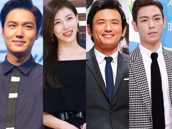 Lee Min Ho Hingga T.O.P Big Bang Siap Hadir di 19th Shanghai International Film Festival