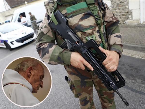 Pelaku Sempat Rekam Diri Sendiri, Ini Kronologis Pembunuhan Pastor di Gereja Perancis