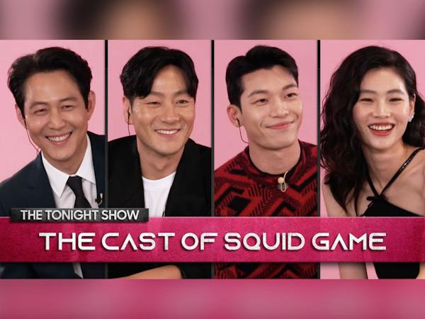 Penampilan Pemain Squid Game di The Tonight Show Starring Jimmy Fallon