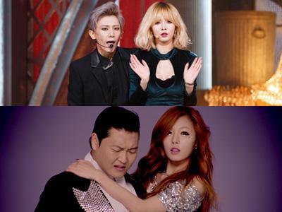 HyunA 4Minute Ungkap Perasaannya Kerja Bareng Hyunseung B2ST dan Psy