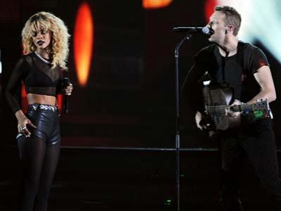 Rihanna-Coldplay Tampil Bareng di Penutupan Paralympic