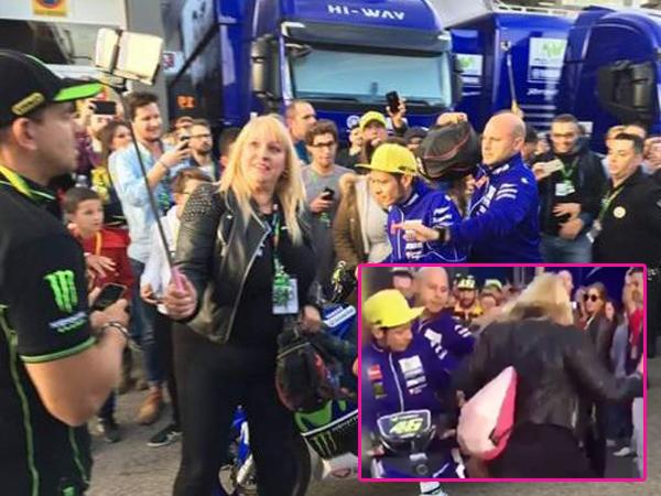Video Rossi Tendang Fans Jadi Viral, Berlanjut ke Ranah Hukum?