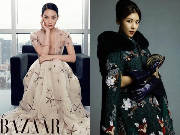 Lima Aktris Korea Ini Tampil Bak Puteri Negeri Dongeng di Pemotretan