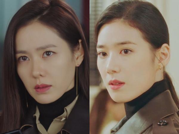 Coat Kembar Son Ye Jin dan Jung Eun Chae, Who Wore It Better?