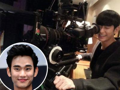 Lucunya Kim Soo Hyun Jadi Kameramen 'Man From the Stars' !