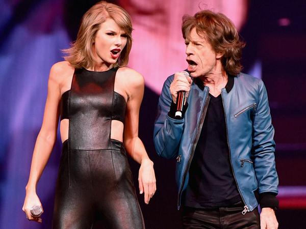 Pernah Duet Bareng Buat Mick Jagger Masuk di Squad Taylor Swift?
