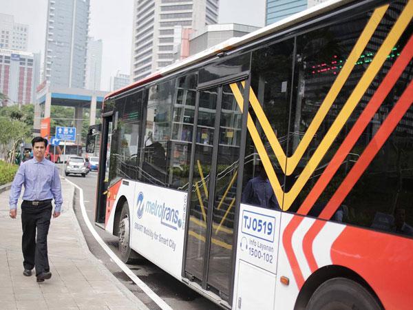 Sarana Prasarana TransJakarta Rusak Akibat Aksi 22 Mei, Simak Pengalihan Rutenya