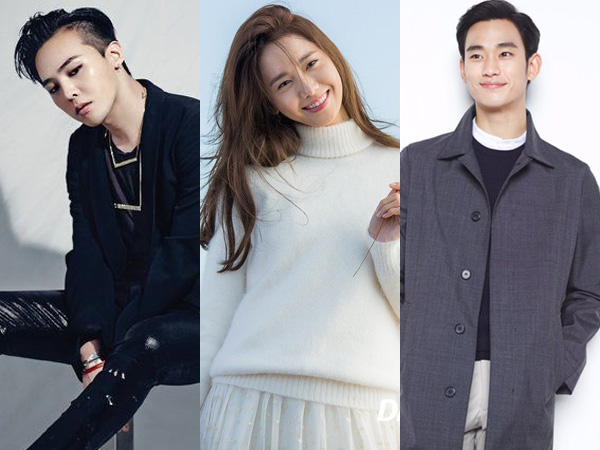 Kim Soo Hyun Hingga G-Dragon Masuk Daftar Idola Asia Berprestasi 2016 versi Forbes!