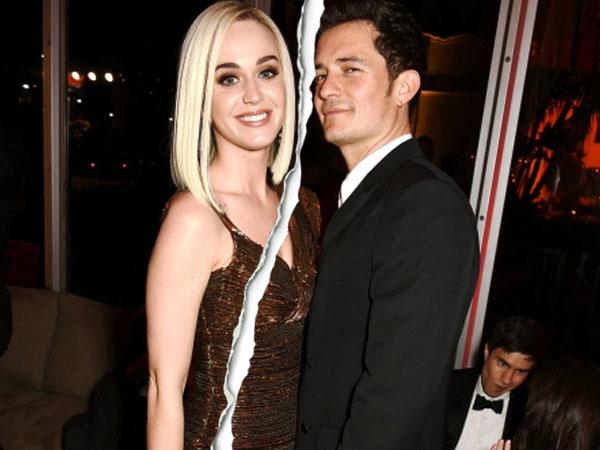 Belum Ada Setahun Pacaran, Katy Perry dan Orlando Bloom Putus!