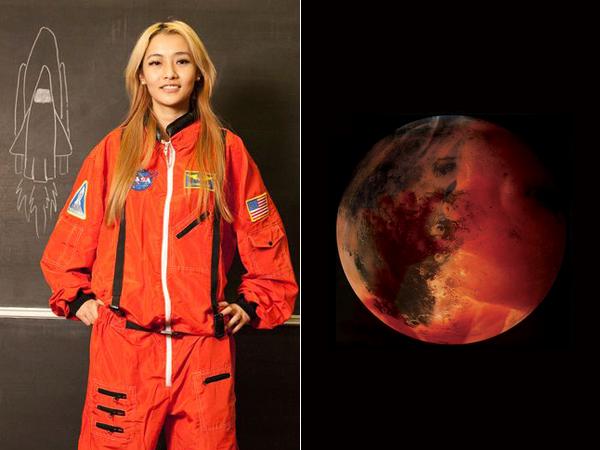 Wanita 23 Tahun Ini Akan Melahirkan dan Meninggal di Planet Mars?