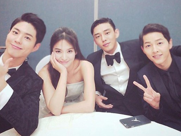 Yoo Ah In Akrab Bareng 'Song Song Couple' Hingga Bintang 'Reply 1988' di Baeksang Arts Awards