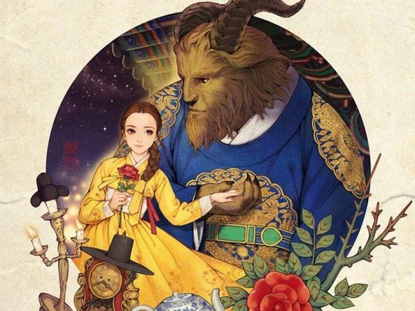 Hingga Jadi Poster Film Resmi, Kerennya Deretan Princess Disney dengan Sentuhan Korea Ini!