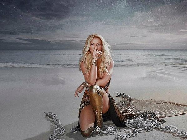 Ultah ke-39, Britney Spears Rilis 'Swimming In The Stars'