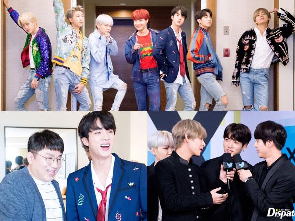 Dispatch Rilis Foto-foto Eksklusif BTS di American Music Awards 2017