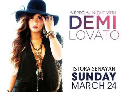 Ini Dia Detail Pembelian Tiket Konser Demi Lovato di Jakarta