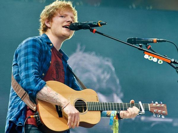 Dikonfirmasi Mampir ke Indonesia, Inilah Harga Tiket Konser Ed Sheeran 'Divide World Tour in Asia'