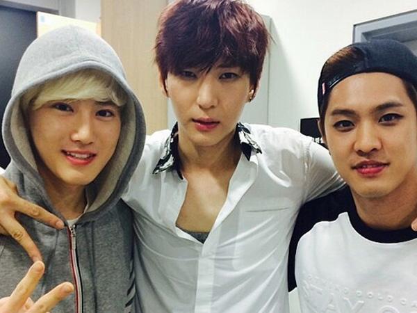 Beri Dukungan, Seungho MBLAQ dan Suho EXO Hadir di Pertunjukkan Musikal Leo VIXX