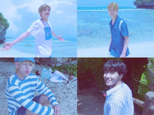 Serunya BTS Nikmati Musim Panas di Pulau Saipan dalam Video 'G.C.F' Jungkook