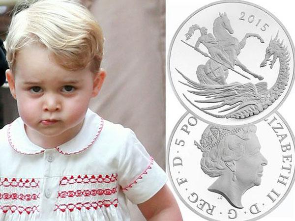 Sambut Ultah ke-2 Pangeran George, Inggris Rilis Koin Perak Edisi Khusus