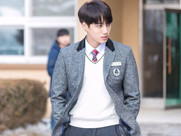 Rilis Foto Behind The Scene, Drama 'Andante' Tampilkan Pesona Lain Kai EXO