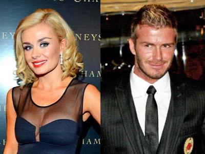Benarkan Beckham Selingkuh dengan Katherine Jenkins?