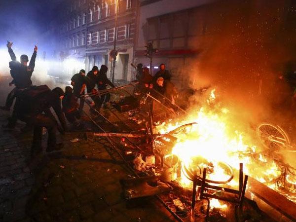 Ratusan Polisi Jerman Terluka Saat 'Redam' Kerusuhan Usai KTT G20