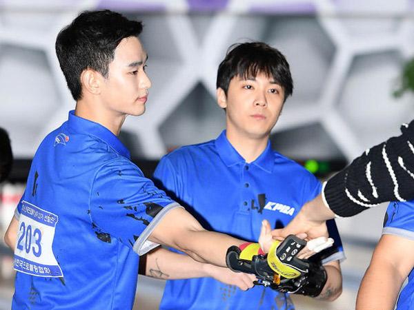 Duh, Kim Soo Hyun dan Hongki FT Island Tereliminasi dari Kompetisi Bowling Profesional